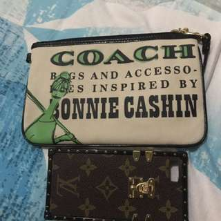 Pouch coach limited edisi design authentic