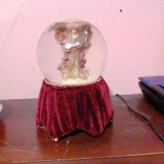 Christmas musical globe.