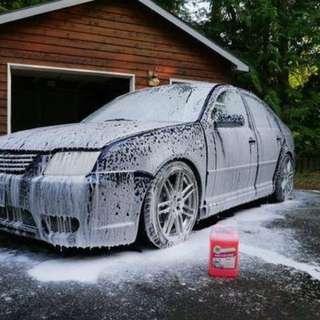 美國3D出品 , 鍍膜專用洗車水 --- 美國製