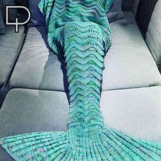 MERMAID TAIL BLANKET - GREEN LIMITED EDITION