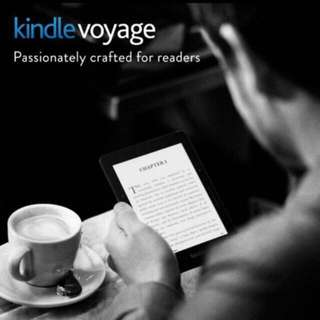 Brand New Sealed Kindle Voyage (Many Freebies)