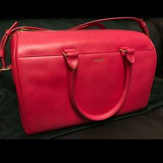 *98% NEW YSL Saint Laurent Classic Duffle Pink Bag 粉紅色手袋