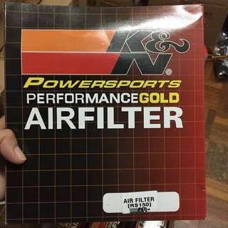 K&N Air Filter RS150