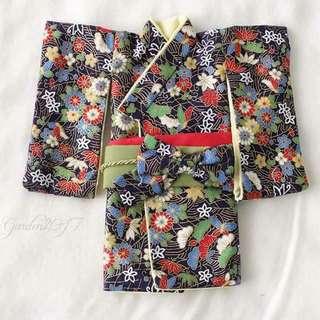 Blythe Kimono (Black color)