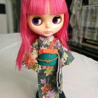 Blythe Kimono (Green colour)
