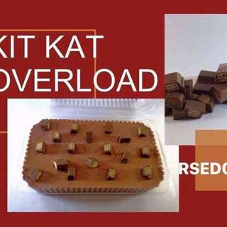 NuthinButTasty Desserts - KitKat Overload Cake