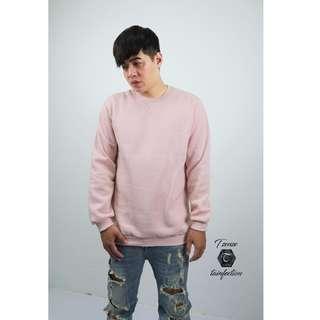 🚚 前V型 全素 內刷毛 高磅數 大學T 粉色 2件558 (10+2顏色 都有單拍可以直接在賣場搜尋)