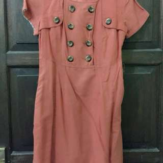 NYLA Dress Orange