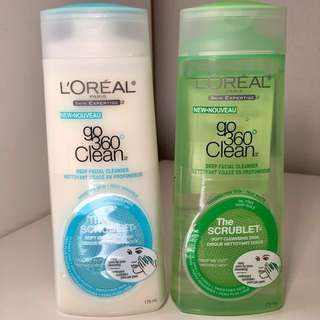 NEW L'Oreal Go 360 Clean Face Cleanser