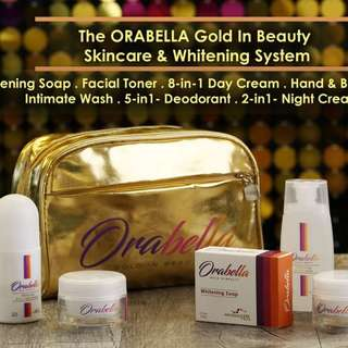 7-in-1 ORABELLA WHITENING set with free pouch