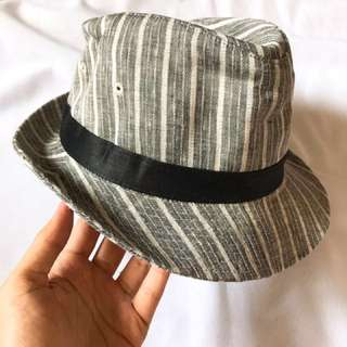 🇯🇵Unisex Stripe Hat 間條 條子 紳士帽