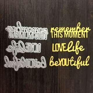 On Sale Love Life Sentiment Dies Set