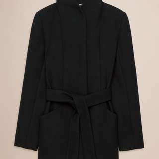 *Aritzia* (XS) APPELL coat in black wool