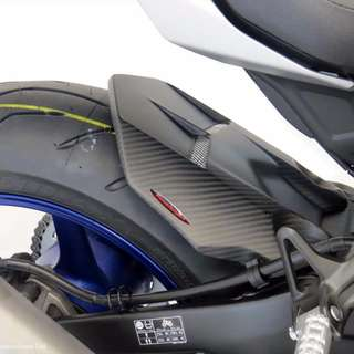 Powerbronze Carbon Fibre Rear Hugger for Yamaha R1 MT10