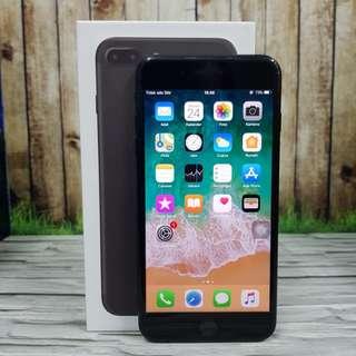 iPhone 7 Plus 128GB Black Matte Super Mulus Fullset masih garansi inter USA ( ITC Cempaka Mas )