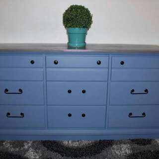 NEWLY UPDATED TWO TONED DRESSER