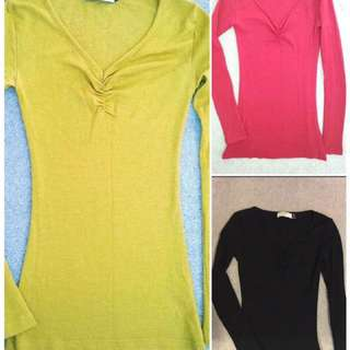 SIZE 6 MERINO GLASSONS TOPS LONG SLEEVE EXC COND