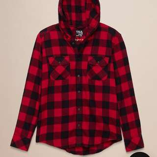 TNA Brewster plaid shirt (NWT)