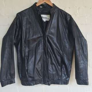Wilson 100% leather coat