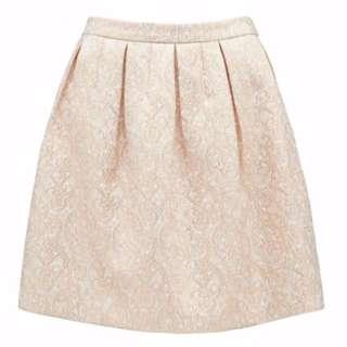 Forever New Organze skirt