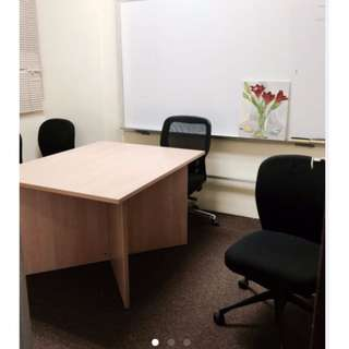 """""""Rental of enclosed Office Rooms with windows / workstations / sharing of office room - All fully carpeted and air conditioning"""""""