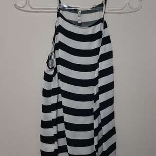 stripes top stradivarius