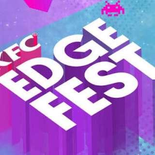2x KFC EDGE FEST TICKETS