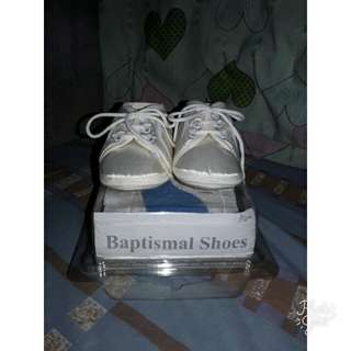 Pitter Pat Baptismal Shoes