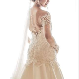 For Bidding:Haute Couture Wedding Gown