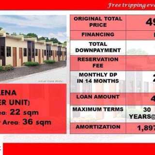 3k per month house and lot!