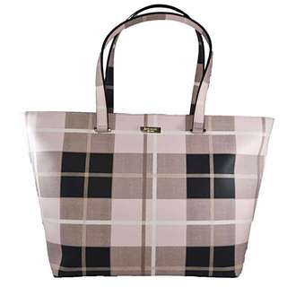 REPRICED AUTHENTIC Kate Spade Newbury Lane Plaid Pink and Black
