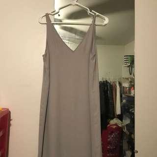 BABATON DRESS SIZE S grey 9/10 condition