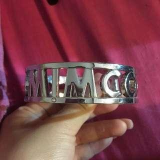 Mimco silver bangle