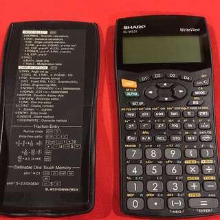 Sharp Scientific Calculator EL-W531 with Write Well