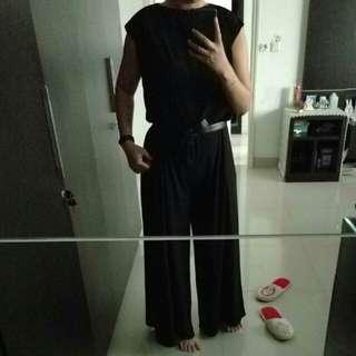 REPRICED Premium jumsuit black size L