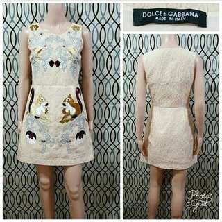 DOLCE AND GABBANA DRESS /S/