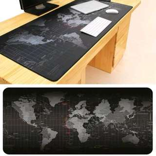 Old World Map mouse pad large pad