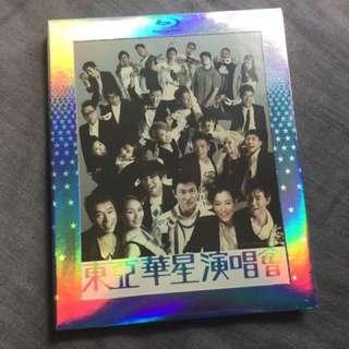東亞華星演唱會 Blu-ray 全新 (劉德華 鄭秀文 楊千嬅 許志安 何韻詩 任賢齊 王菀之)