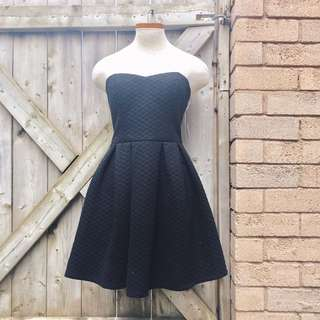 NEW  Strapless sweetheart formal dress