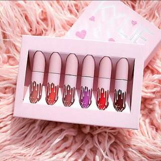 [INSTOCK] Kylie THE BIRTHDAY COLLECTION | MINI KIT MATTE LIQUID LIPSTICKS *INSPIRED (NON-AUTHENTIC) #T8S