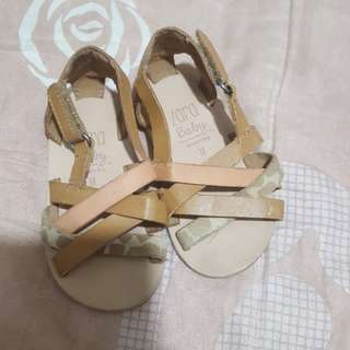 Preloved Zara Baby Sandal