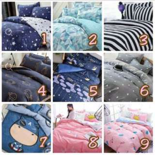 Single/ Queen / King Bedsheets Set