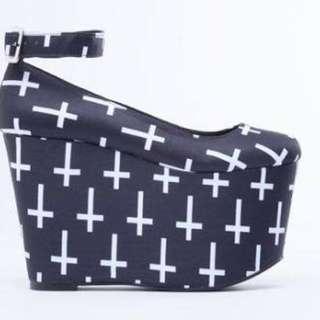 Solestruck Vs Black milk Shoes Cross Of Saint Peters
