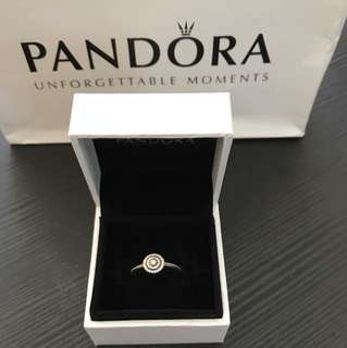 Authentic Pandora Ring Size 50
