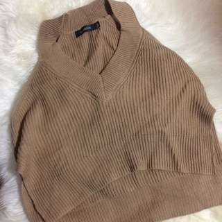 Glassons Toffee Knitted Crop
