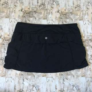 Lululemon Jog skirt Black Size 6