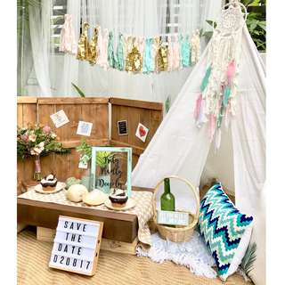 For Rent: White teepee tent