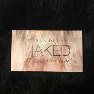 Urban Decay: Naked illuminated trio