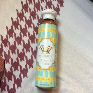 Made by David Dry Shampoo Orange & Vanilla