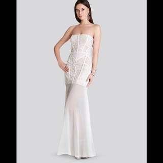 BCBG BNWT mermaid lace dress